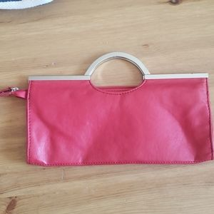 Red Candies clutch hand bag